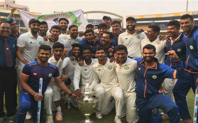 Vidarbha beat Delhi to  Clinch Maiden Ranji Title: Ranji Trophy