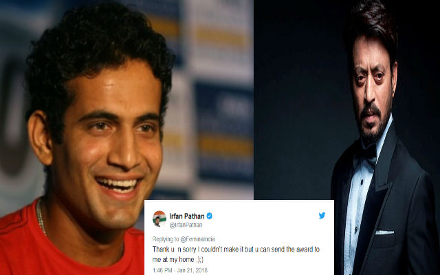 Irfan Pathan cheeky response to wrongly-tagged tweet is going viral