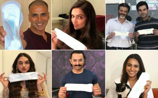 """Padmaavat"" Star Deepika Padukone Poses With Sanitary Pad In 'PadMan Challenge'"