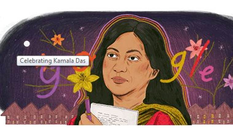 Google remembers Kamala Das's 'My Story' with a doodle