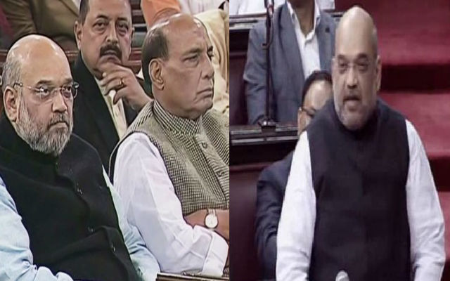 Amit Shah slams Congress leaders during Debut Speech in Upper house