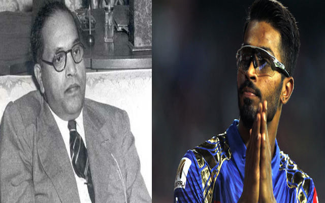 Hardik Pandya in trouble! All-Rounder to be booked for Ambedkar tweet