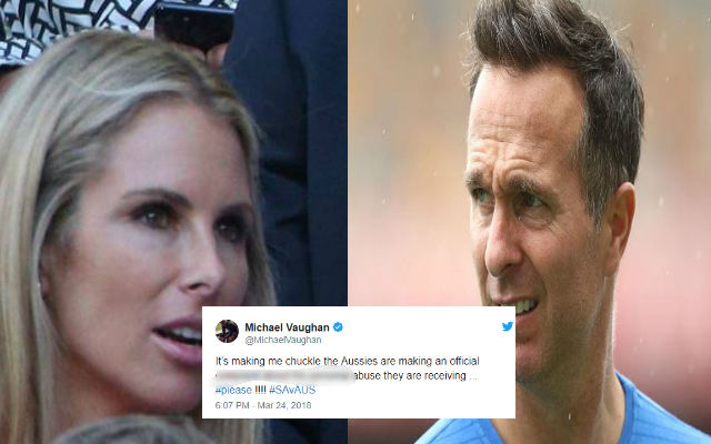 Candice Warner Involved In War Of Words With Ex-England Captain Michael Vaughan