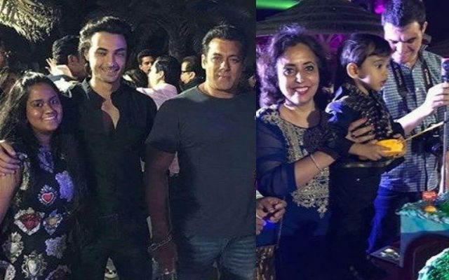 Salman Khan and entire family celebrated Ahil's birthday in Abu Dhabi