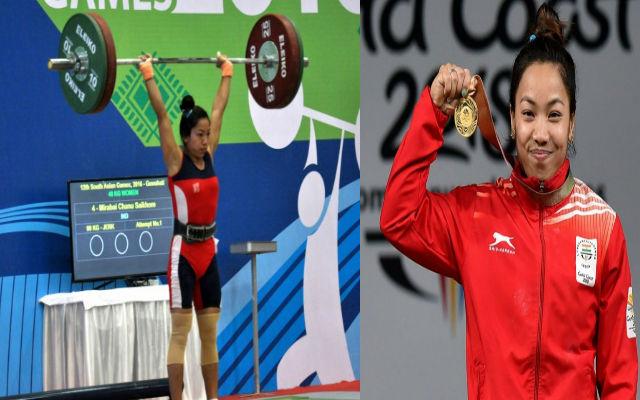 CWG 2018: Mirabai Chanu Wins Gold In Women's Weightlifting