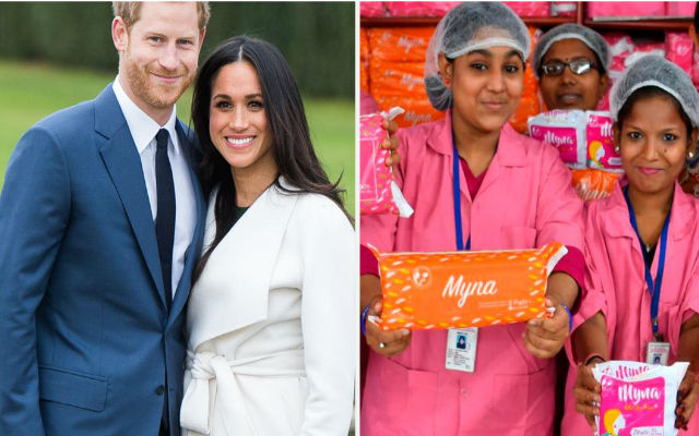 'Don't send gifts, buy sanitary pads for Indian women': Prince Harry & Meghan