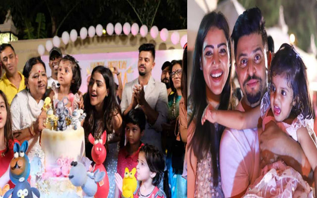 IPL 2018: Suresh Raina Celebrates Daughter Gracia's Birthday with MS Dhoni