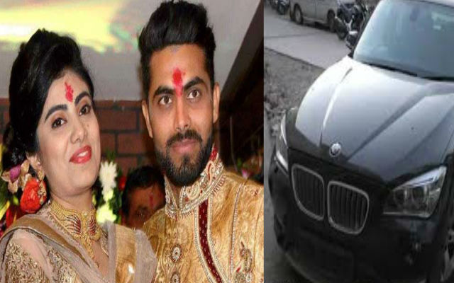 Ravindra Jadeja's Wife Assaulted By Cop Over Accident, Pics Inside