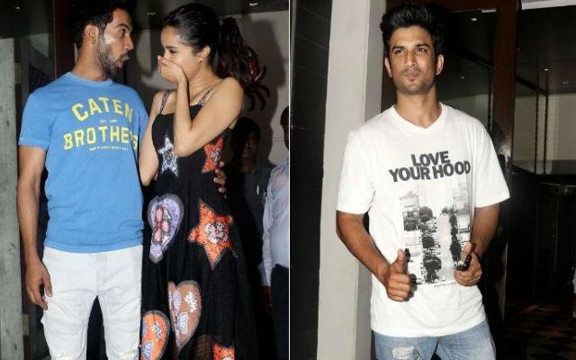 Shraddha, Sushant & Rajkummar Rao Came Under The Spotlight of Stree Wrap-Up Party