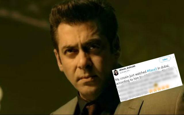 Race 3 Movie Review:  Twitter In Favour of Salman Khan Film!!