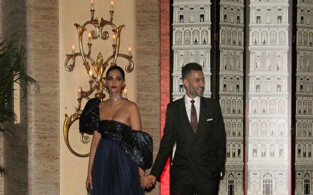 Newly Weds Sonam Kapoor & Anand Ahuja At Natasha Poonawalla's Bash