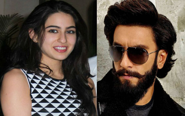 Sara Ali Khan and Ranveer Singh Are All Set For 'Simmba' Shooting, See Pictures