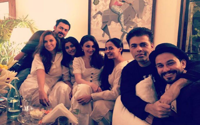Dia Mirza Hosts Party In Honor Of Newlyweds Neha Dhupia & Angad Bedi