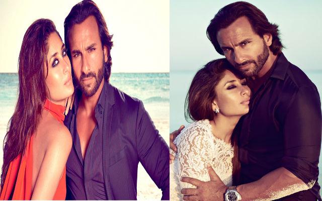 Saif Ali Khan & Kareena Kapoor Shoot For An Ad Together In London