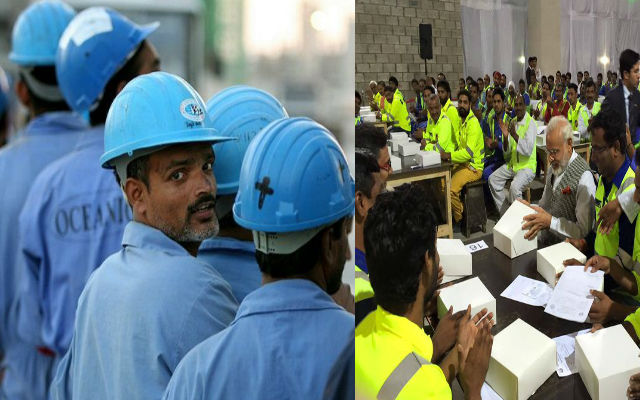 Indian Workers In Qatar For Infrastructure Construction Stranded Without Pay