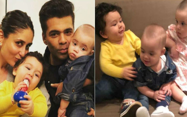 Taimur's Adorable Play Date With Yash – Roohi Goes Viral On Social Media: Watch Video