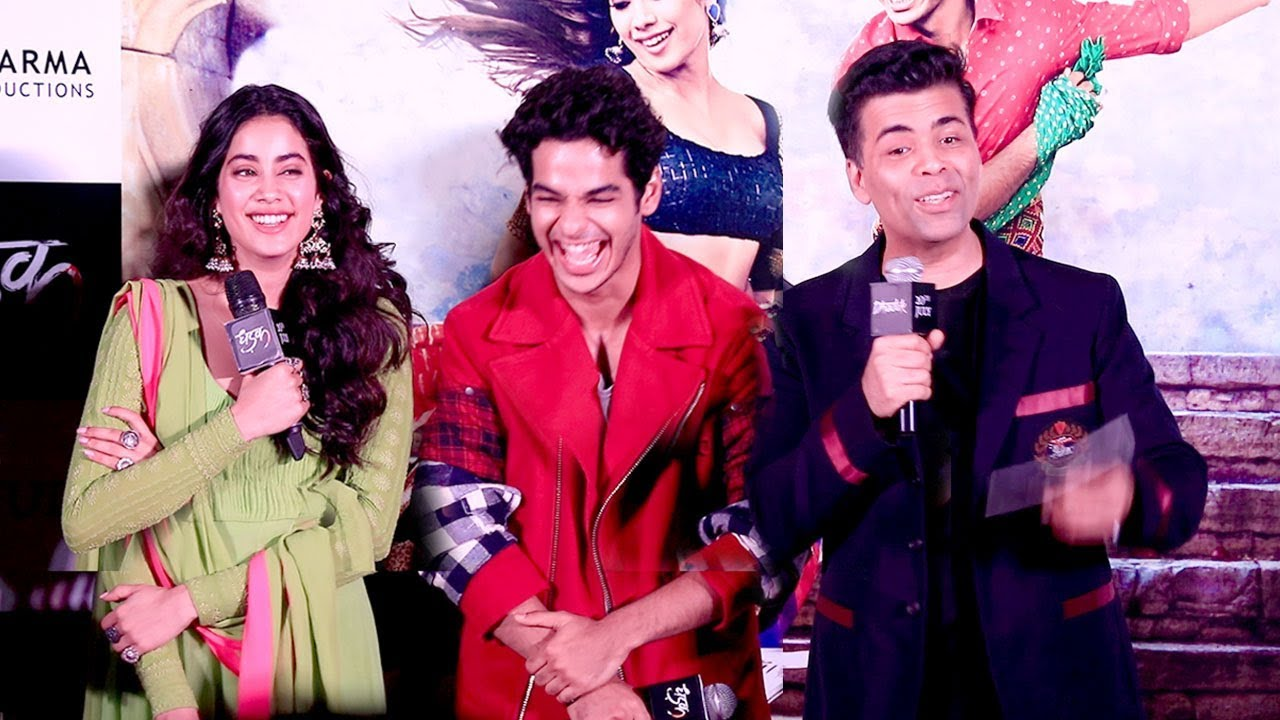 Karan Johar Takes Twitter To Welcome An Exciting Journey For 'Dhadak' Couple