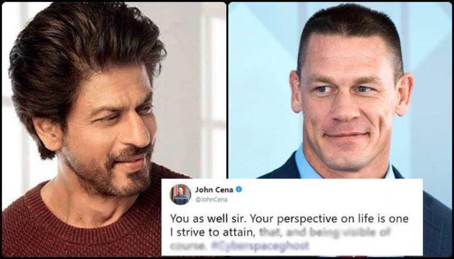 John Cena Shares Shah Rukh Khan's Quote, SRK Thanks John Cena