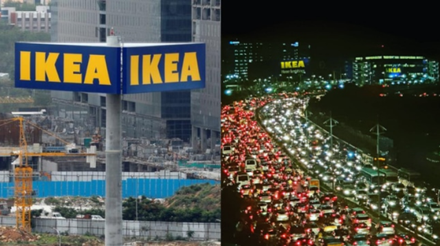 Swedish Retail Chain IKEA's Opening Bring Hyderabad To Stand Still
