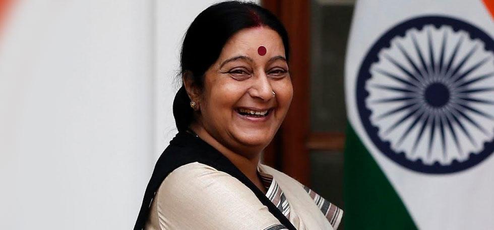 Sushma Swaraj Will Now Consult Volcanoes of Indonesia