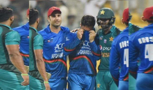 Asia Cup 2018: Rashid Breaks Down After Loss, Malik Consoles Him Post Victory