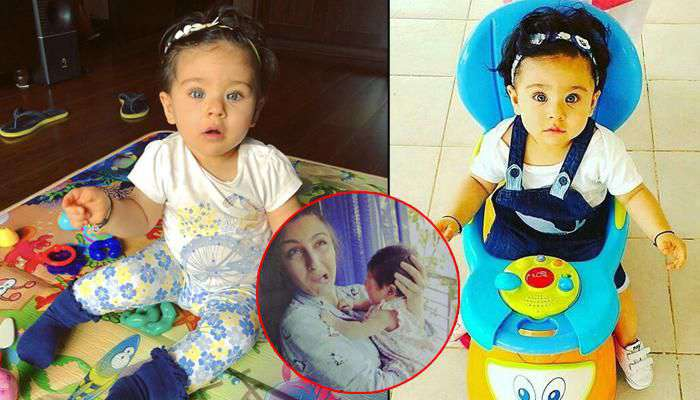Soha's Daughter Must Melt Million Hearts By Her Cutie Postures