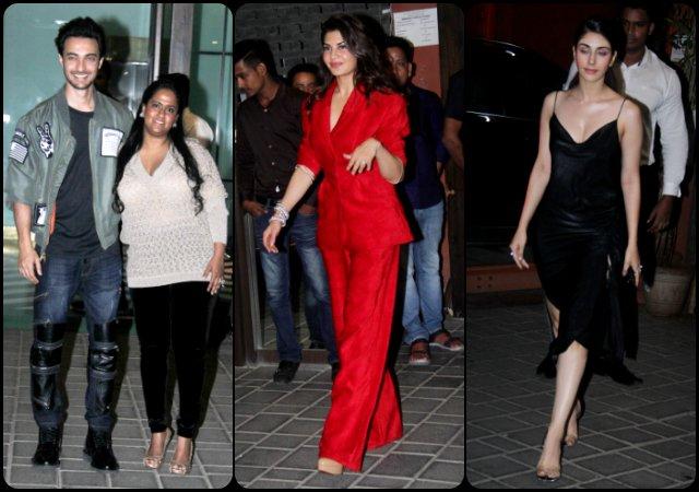 Aayush Sharma b'day: Salman's Family & Friends Make Star Studded Party