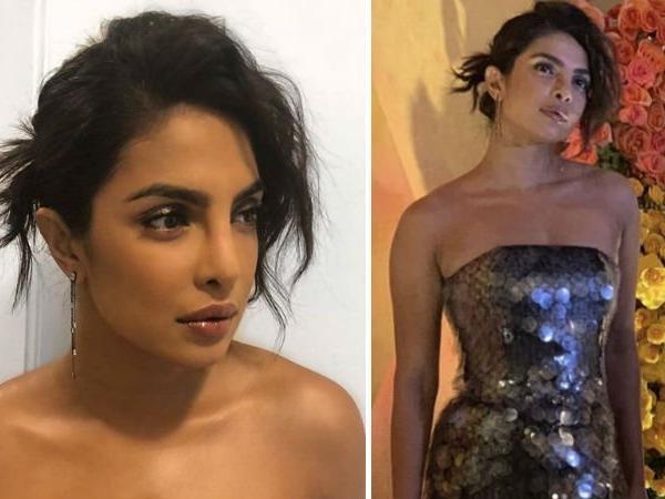 Priyanka Chopra's Strapless Metallic Maxi Dress Is What You Should Eye For …