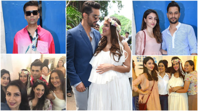 Photos From Neha Dhupia's Star-Studded Baby Shower Going Viral