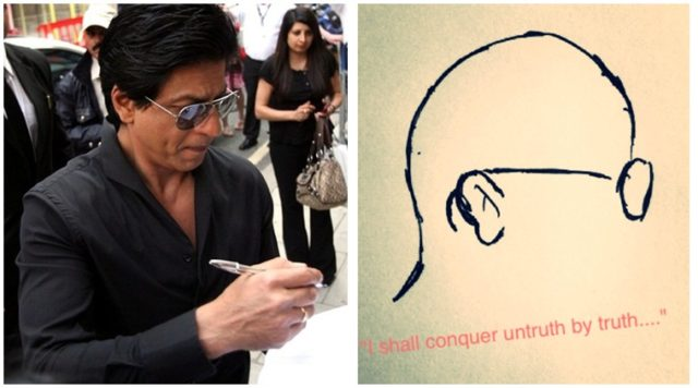 Gandhi Jayanti: SRK Pays Respect To Mahatma Gandhi By Pleading For Clean India
