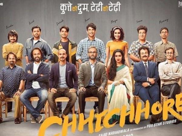 Shraddha Kapoor & Sushant Singh Rajput Starrer Chhichhore Poster Out