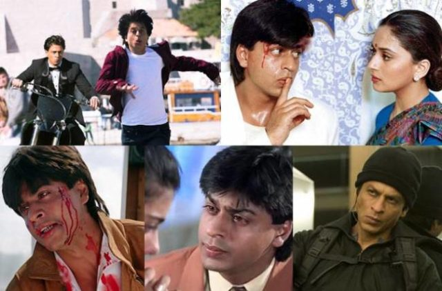 Top 5 negative Roles Of Shah Rukh Khan That Made Him Bad Boy Of Bollywood