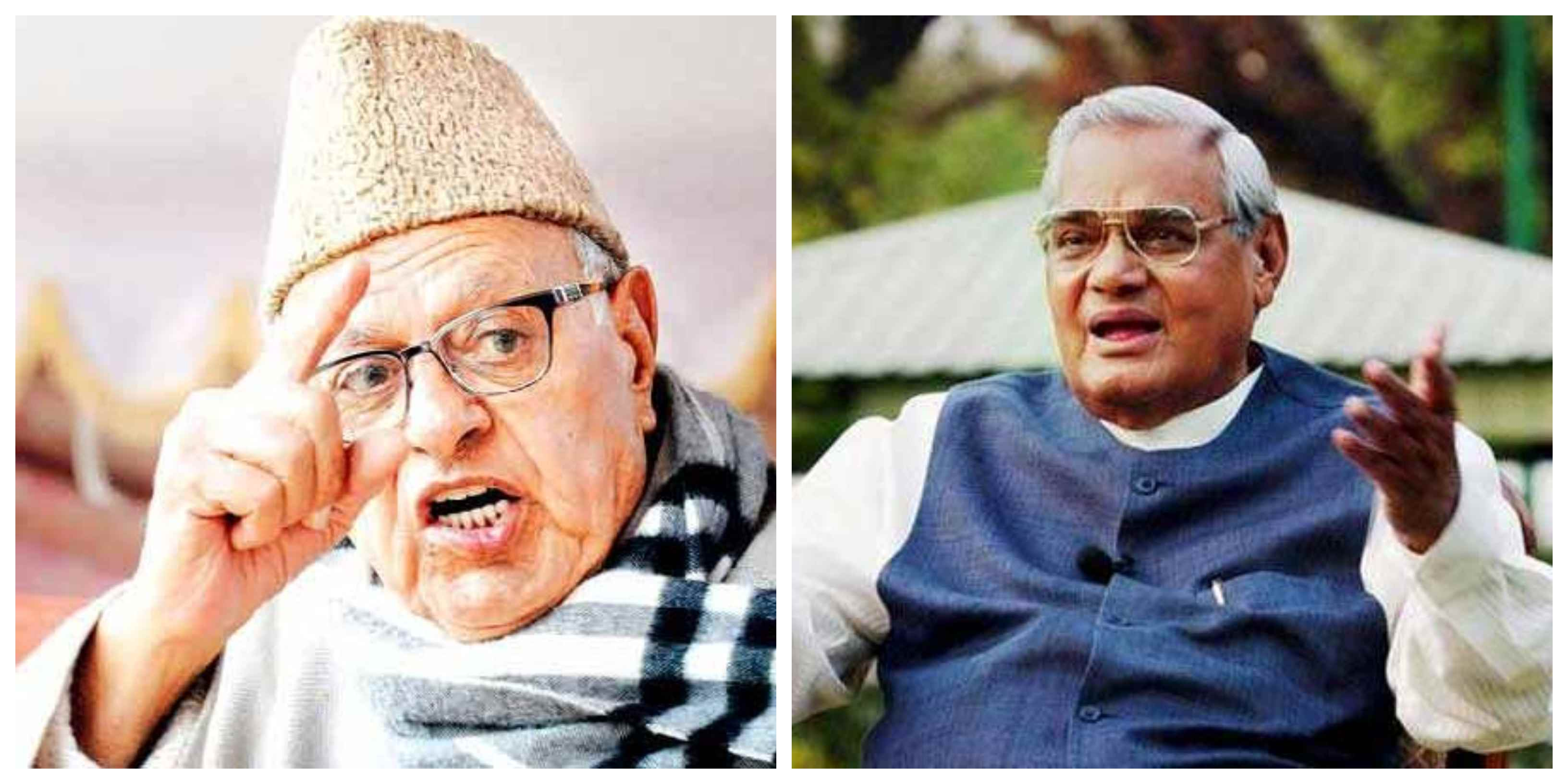 Atal Bihari Vajpeyi was not Wajir-e-Azam but was a king of everyone's heart – Farooq Abdullah