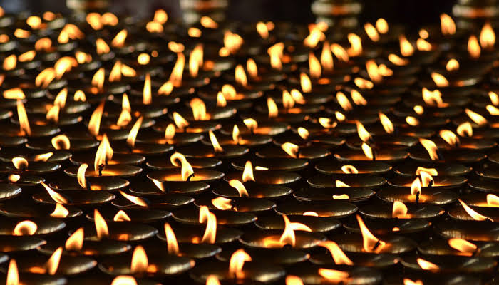 Lit the goodness of Diwali