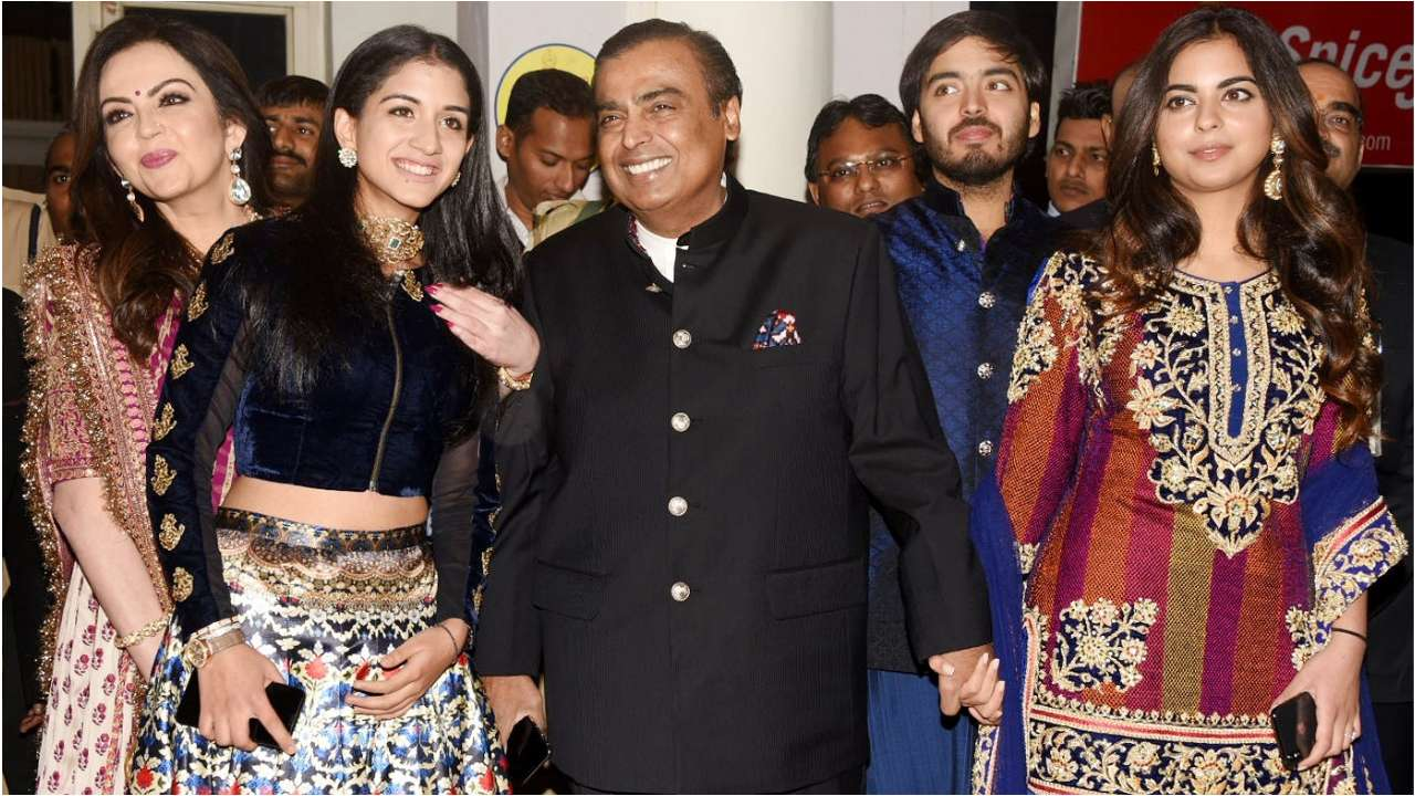 Ambani's at Priyanka Sangeet Ceremony