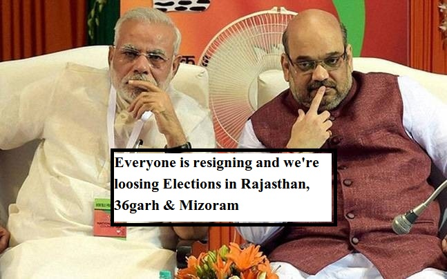 BJP in Bad Condition