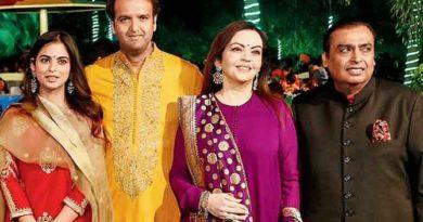 Isha Ambani and Anand Parimal Wedding