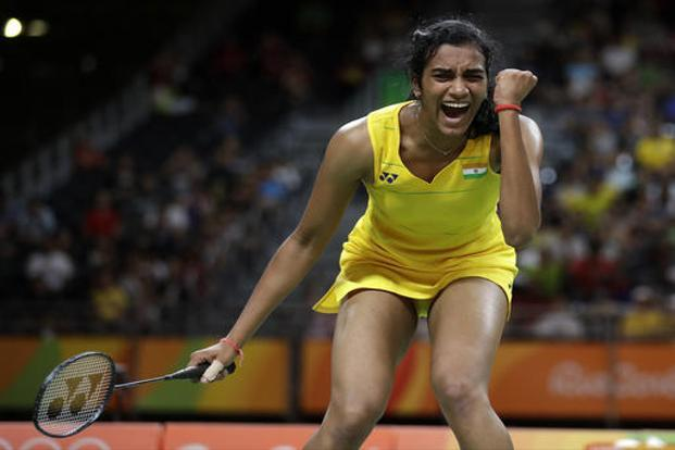 The drought for win in PV Sindhu career has come to an end by winning a Gold at BFW