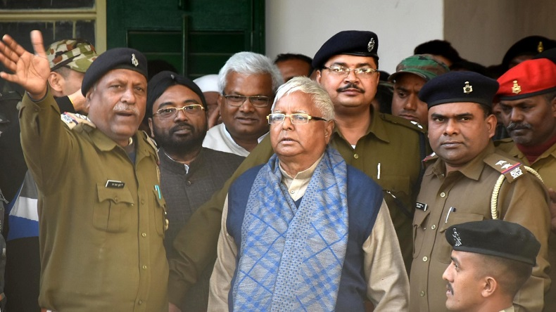 IRCTC scam: Lalu Prasad Yadav granted impermanent bail by the High Court.