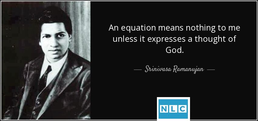 Know some interesting facts about great mathematician S. Ramanuja