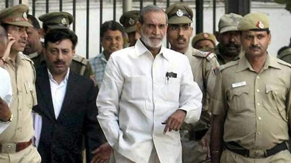 A prominent Congress leader Sajjan Kumar accused of Sikh Riots is sentenced to Life-Time Imprisonment