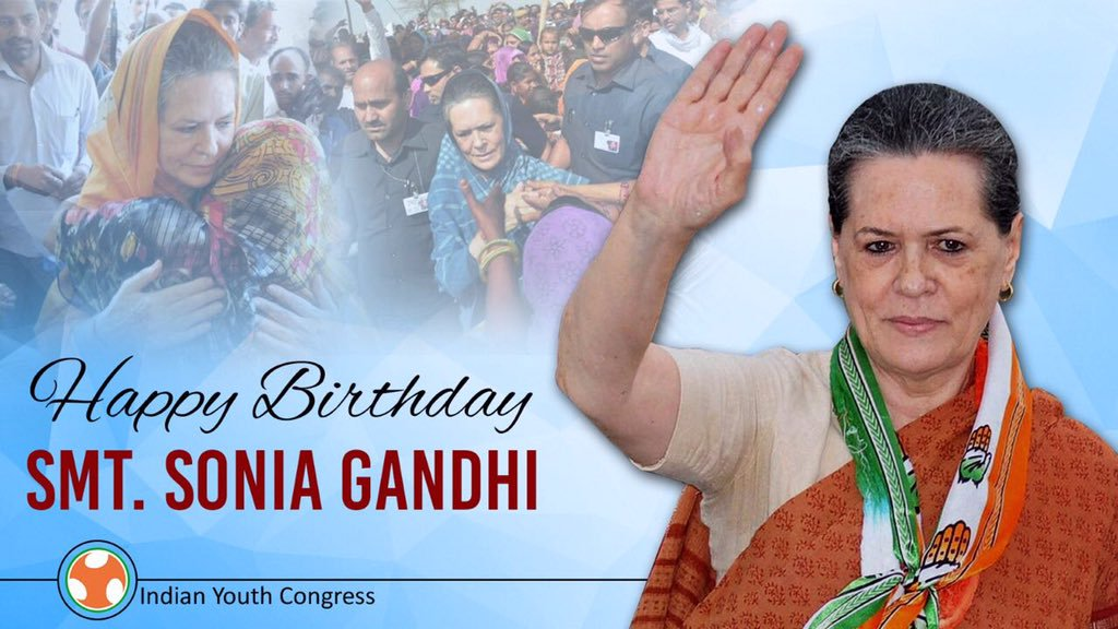 Sonia Gandhi Birthday speacial
