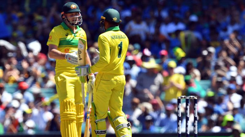 AusvsIND First ODI: Australia established target of 289 for India to win