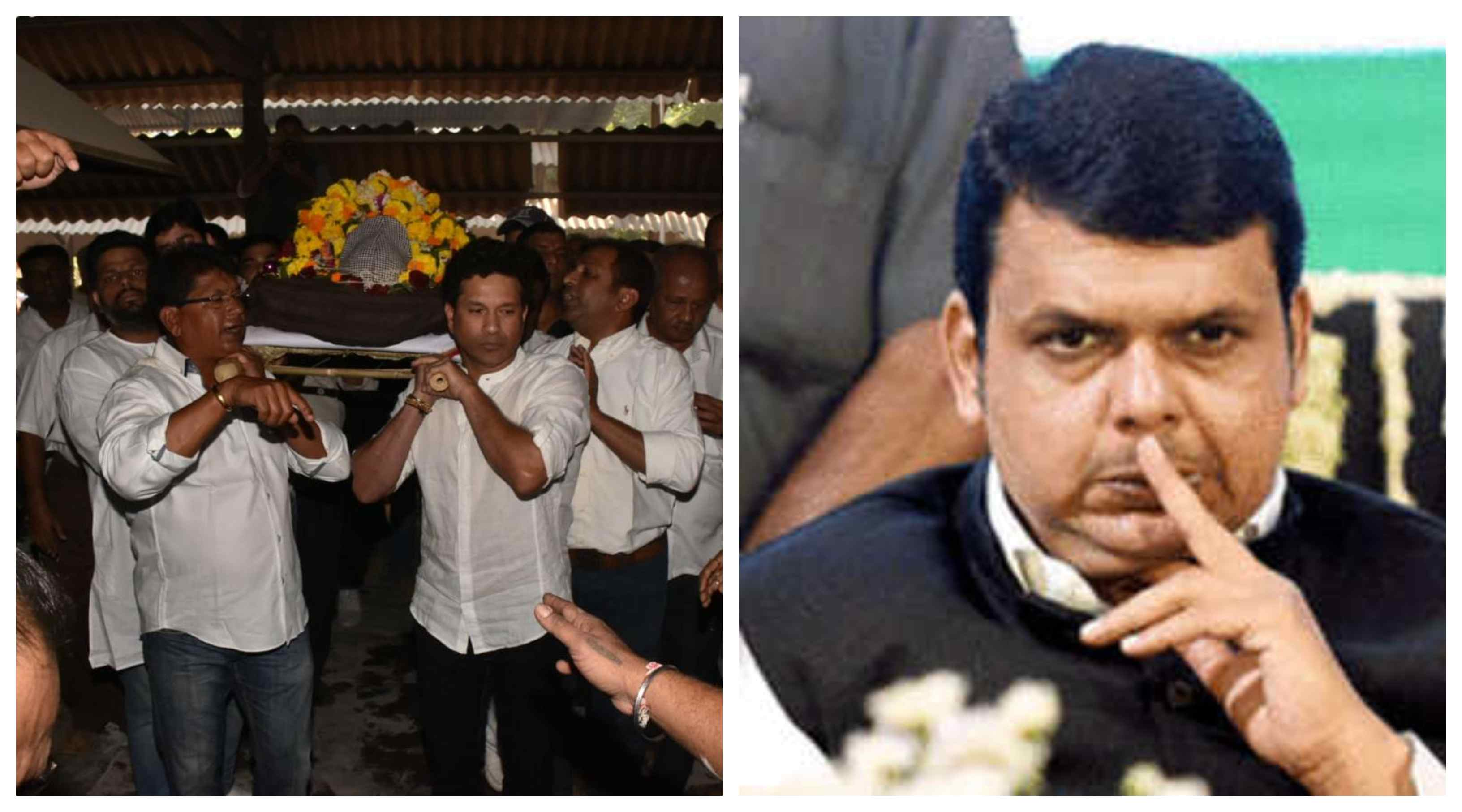Maharashtra govt. trolled for not giving a state funeral to coach Ramakant Archrekar