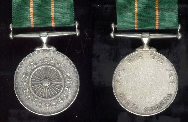 Two Soldiers awarded Kirti Chakra during Republic Day Parade