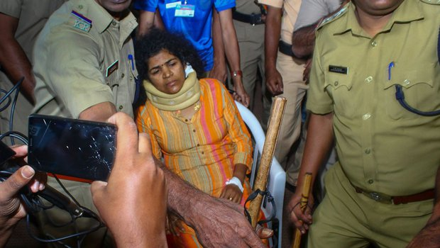 Women who entred Sabarimala temple beaten by her mother-in-Law