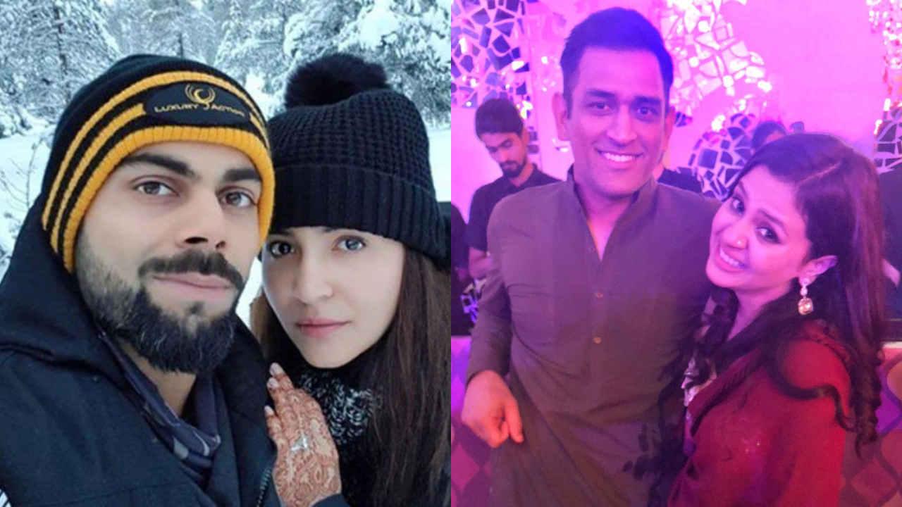 Anushka Sharma & Sakshi Dhoni relation
