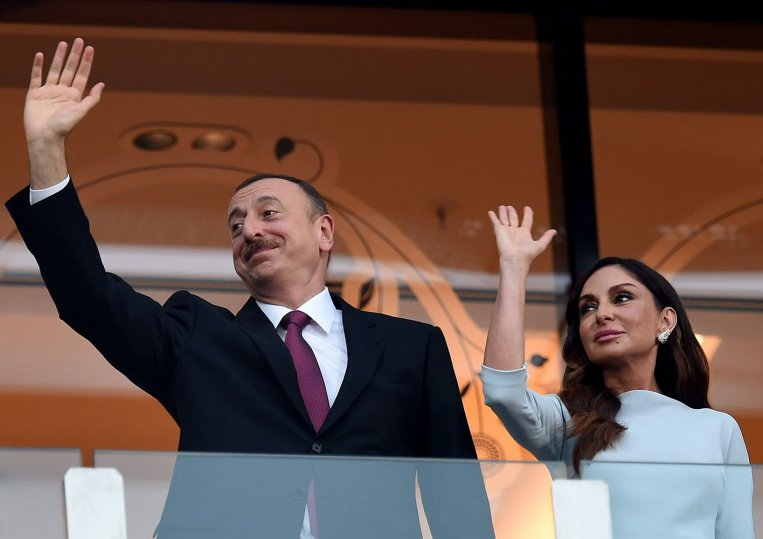 Azerbaijan's President appointed his wife as Vice-President