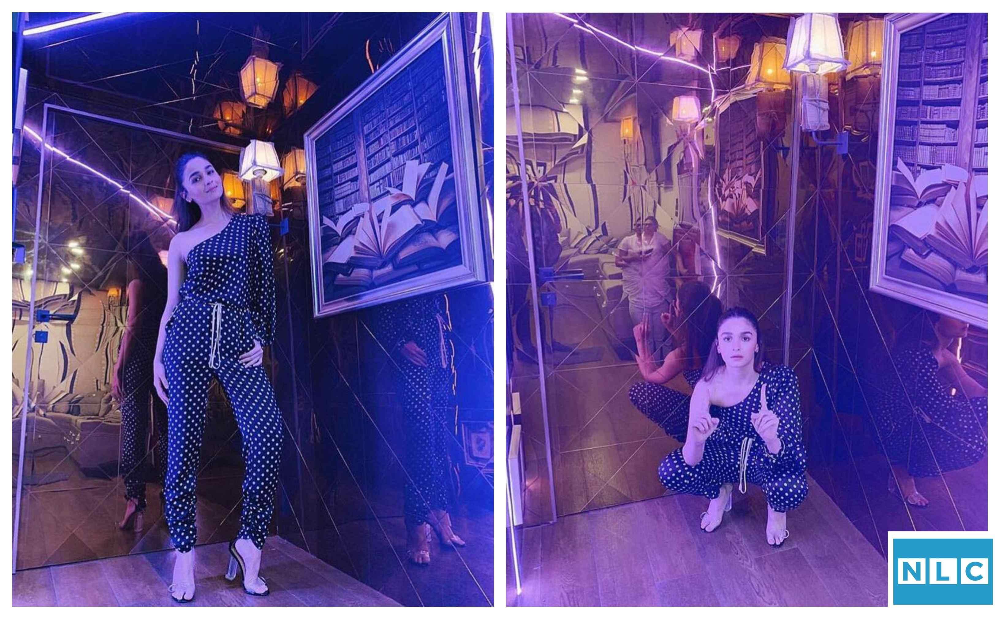 Alia Bhatt new vanity van