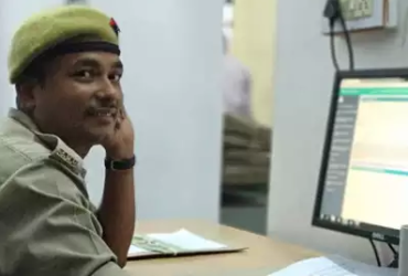 Constable Shyam Babu cracked PCS exam